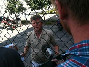 – Det är tragiskt, jag vet inte vad detta kommer att få för konsekvenser, säger Bo Persson som jobbar med transport för Milko.