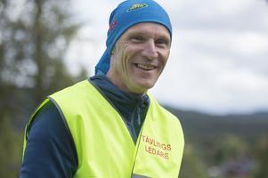Flemming Petersen, trött men mycket lycklig tävlingsledare för Ragunda 100 Miles.