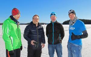 Simon Berglund, med kameran, inspirerade Orixis Jay och Andrew Tigau att besöka Falun. När Orixis Jay hittade Berglunds video kontaktade han Christian van Dardel, arrangör av Runn winter week, som hjälpte honom med information.