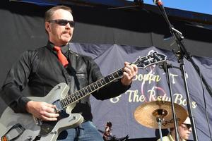 Tord Gustafsson och sina bandmedlemmar såg till att det blev rock.