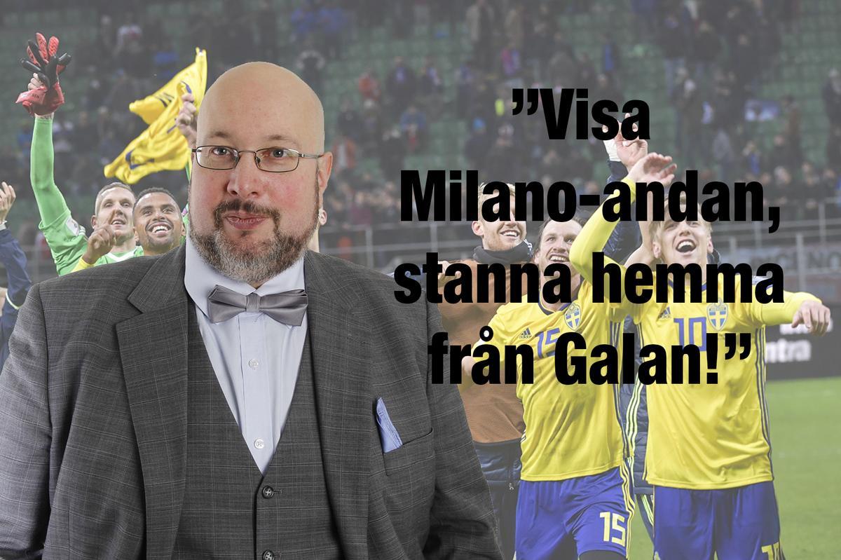 Oksanen  Milanohjältarna bör bojkotta Fotbollsgalan till stöd för  damlandslaget f1337d21c45bc