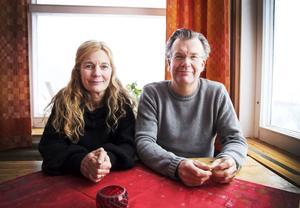 Anna Romare Blyckert och Micke Blyckert.