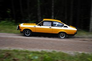 Racingnät. Gunnar Larsson från Borås körde en Opel Kadett Rally GTE från 1975. Foto:Christian Larsen