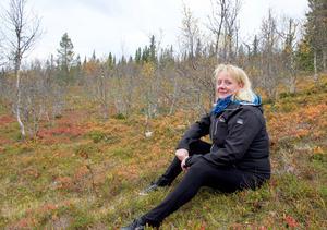 – Jag är en riktig ovvaskogsing men när jag blir riktigt arg svär jag på dalmål, säger Monica Sundkvist.