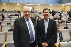 Under måndagen utsågs Ulf Berg Och Christer Carlsson formellt till oppositionsråd för Moderaterna i landstinget.