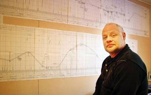 """""""Det är mycket berg att forcera"""", konstaterar entreprenören Sven-Erik Hallqvist."""