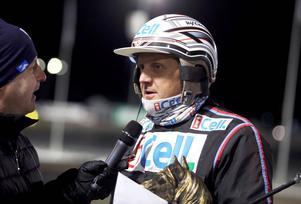 Ulf Ohlsson tog två segrar på Hagmyren på tisdagen.