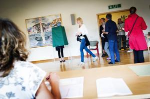 Valdeltagandet är alltid större i Kramfors än genomsnittet i riket.