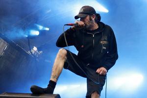 Randy Blythe är sångare i Lamb of God. I somras spelade bandet på Metaltown i Göteborg.