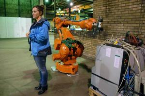 Marab arbetar med robotteknik och sommaren 2016 ska tillverkningen vara i gång, berättar Matilda Bastman, projektledare.