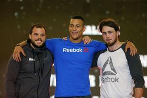 Oscar Andersson, David Shorunke och Viktor Långsved kom topp tre i herrarnas RX-final.