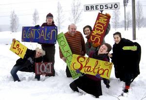 Vinterfestivalen Vitterstråk står för dörren. Arbetar med arrangemanget gör bland annat Malin Svenson, Sven Eriksson, Alf Wikström, Erika Modén, Hanna Zell och Gabriella Kervefors.BILD: BIRGITTA SKOGLUND
