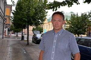 Anders Svensson, 50 år, arbetsledare, Alnön: