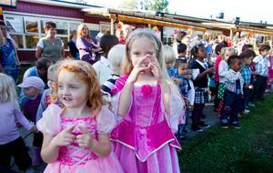 Barnen sjöng bland annat de klassiska visorna