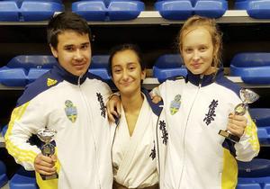 Lipo Lodin, Samantha Karim och Agnes Westrin