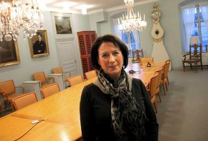 Kommunstyrelsens ordförande Susanne Norberg (S).