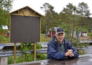 Harald Nordkvist vill utveckla Tynderö.