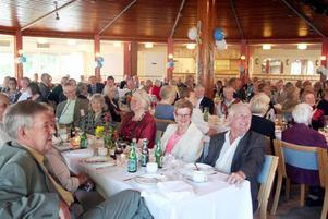 60-årskalas. PRO Norrsundet firade från morgon till kväll när föreningen passerat sina 60 år.Foto: Ulrica Källström