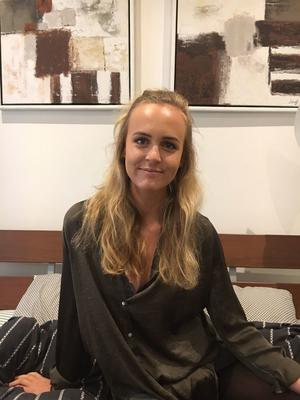 Sara Bjurenvall, 21 år.