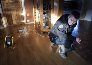 Anders Östergren startade upp sitt företag för fem år sedan, med inriktning mot golv och städ. Nu har han fyra anställda.