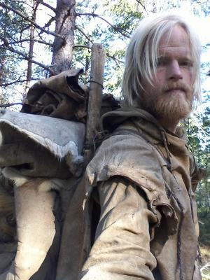 Johan Örlander har tidigare levt i Sjundareviret i två månader och spelat in vargarnas ylande.