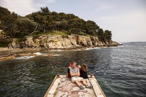 Gienshalvön bjuder bland annat på fina vandringsstråk precis vid havet.   Foto: Johan Öberg
