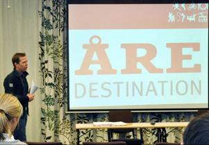 Åre Destination AB blir nya namnet på destinationsbolaget Åreföretagarna. VD Lars-Börje Eriksson föredrar engelskt uttal på ordet Destination men många kommer att säga det på svenska, tror han.