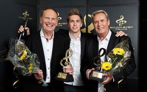 Under Guldklaven 2012 fick Sten och Ebbe Nilsson juryns specialpris. Ebbes son Alexander Nilsson tog också emot priset.
