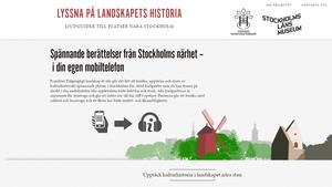 Stockholms läns museum medverkar i samarbetsprojekt Tillgängligt landskap åt alla.