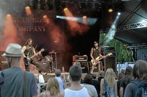 Hårdrockscen. I somras spelade 23 band på hårdrocksfestivalen i Frövi.Arkivbild 2014