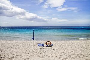 Palombaggia, en av Korsikas finaste stränder.