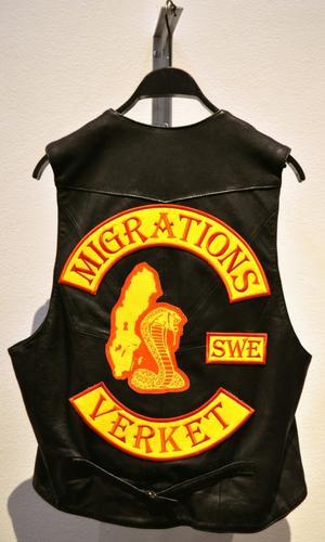 """""""Samhällsproblem (Migrationsverket)"""". Av Ruben Wätte."""