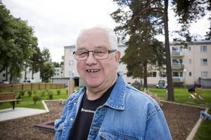 Lars Östlin är vice ordförande i Hyresgästföreningen i Gävle och hyllar Gavlegårdarna.   – De informerade oss väldigt tidigt om planerna och vi ser fram emot fler sådana här parker, säger han.
