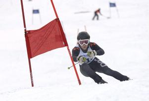 Jonas Nyberg imponerade med två topplaceringar.