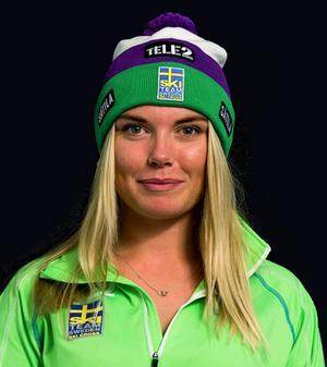 Lisa Andersson, Gävle, gjorde bra resultat på hemmaplan när landslagsåkarna fick tävla hemma i stället för ute i Europa.