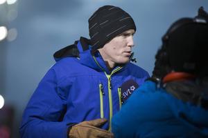 Björn Ferry var imponerad, men faktiskt inte överraskad av Jesper Nelins sensationella insats i VC-sprinten