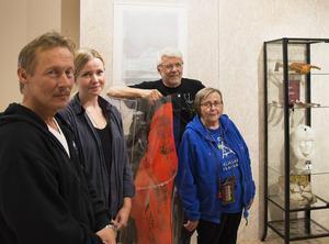 Per-Martin Israelsson, Marie Persson och Birger Ekerlid visar upp sina verk i grupputställningen Vaapsten Bïjre som visas på Gaaltije till och med den 10 september. Projektledare är Sagka Stångberg.