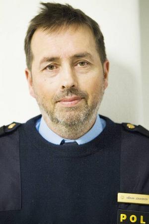 Håkan Jonasson tycker inte att folk ska undvika centrala Östersund av rädsla för våldsbrott. Risken att bli utsatt är liten.