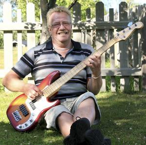 Tommy Stahre och hans Fender.