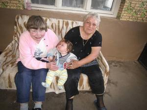 Två mormödrar – Karin Malmsten och mormorsmor Vance.