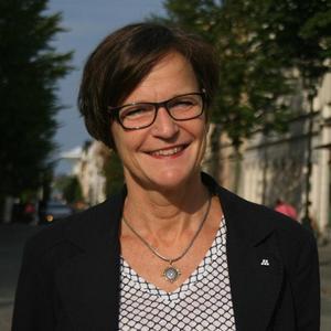 Maria Haglund (M), andre vice ordförande i programnämnd barn och utbildning.