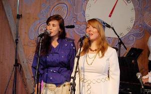 Pauline Skött och Maria Jonsson visade breda register.FOTO: CHRISTIAN LARSEN