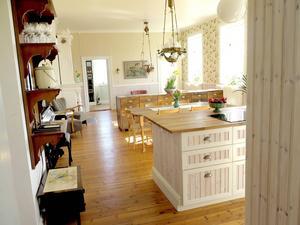 Bara köket är större än hela förra lägenheten.