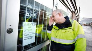 Conny Avasjö saknar Hannas café, där han både drack kaffe och beställde tårtor.