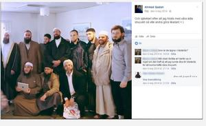 År 2014 samlades 38 imamer i Västerås, på västeråsaren och ordföranden i Västerås moské på Råbys initiativ. Han sitter längst ner till höger i bild, bredvid Ahmad Qadan från Burlöv, nyligen dömd för uppmaning till och finansiering av terroristbrott. Högst upp till vänster står imamen Fekri Hamad och den fjärde från vänster är Gävleimamen Abo Raad.