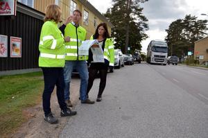 Trafiksituationen genom Mullhyttan ska göras säkrare.