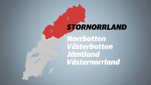 Stornorrland som egentligen borde heta Lillnorrland.