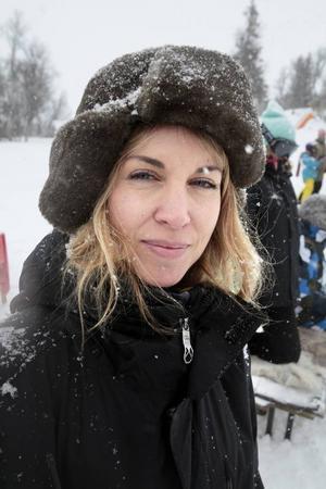 """Teresa Alldén är den ena av de två producenterna av """"Sune i fjällen""""."""