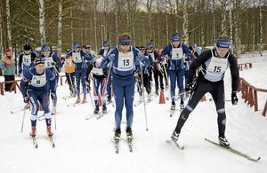 Hytterännet anordnas av Norabygdens skidklubb.