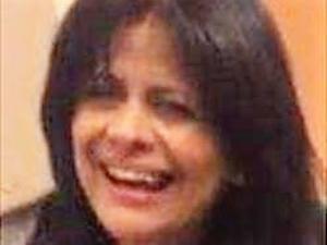 Fatima Berggren, 57 år gammal och bosatt på Pettersberg i Västerås. Hon hördes senast av den 18 maj och polisen misstänker nu att ett brott ligger bakom hennes försvinnande.